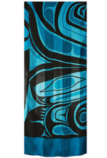 Panabo Sales Wolf Poly Satin Scarf Turquoise