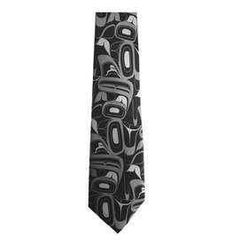 Panabo Sales Eagle Grey Silk Tie