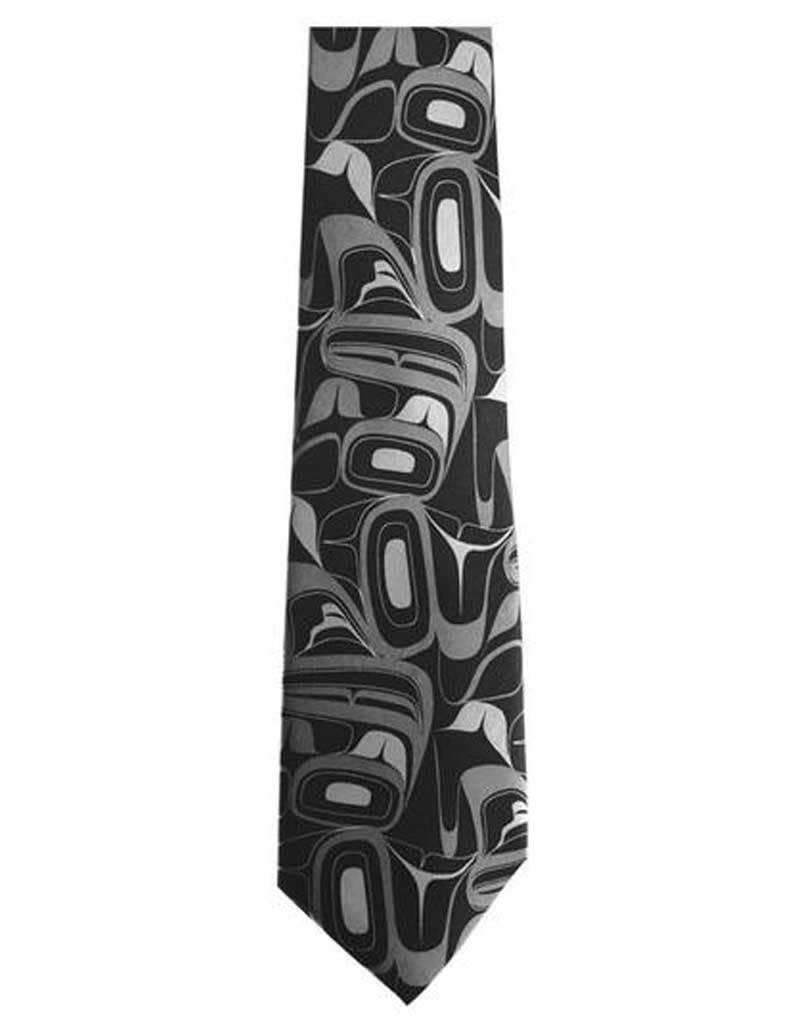 Panabo Sales Eagle Grey Silk Tie