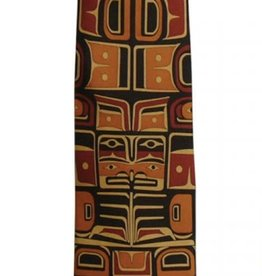 Panabo Sales Chilkat Rust Silk Tie