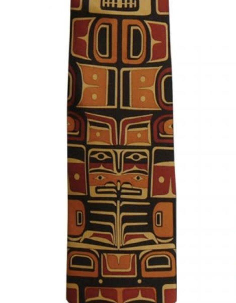 Panabo Sales Chilkat Rust Silk Tie