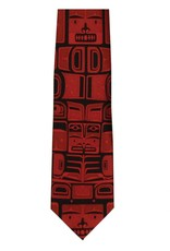 Panabo Sales Chilkat Red Silk Tie