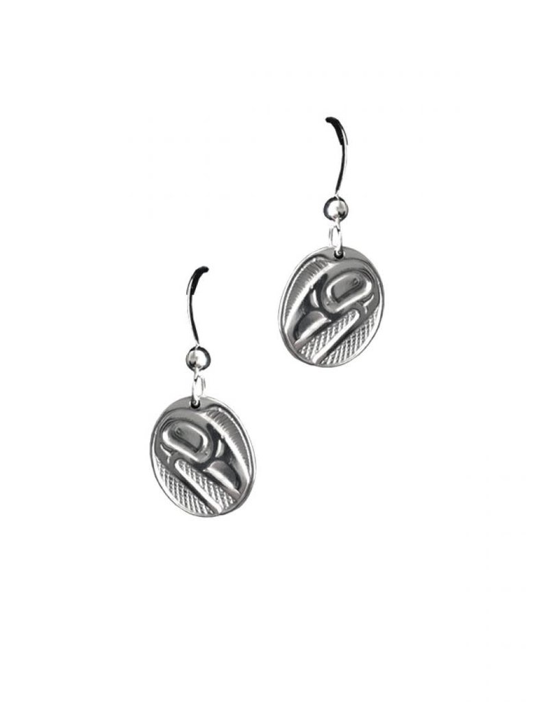 Panabo Sales Raven Sunlight Oval Earring