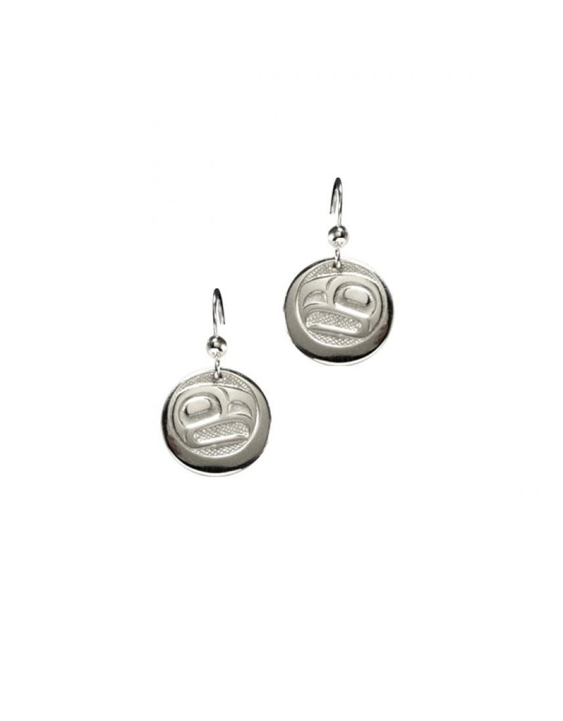 Panabo Sales Eagle Sun Round Earring