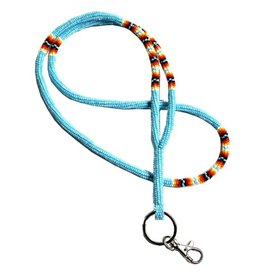 Fourdwholesale Cut Glass Beaded Lanyard