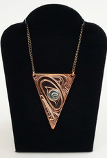Agnes Wisden Copper Arrow Pendant