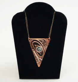 Agnes Wisden Copper Arrow Pendant