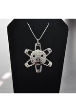 Vincent Henson Cut Out Sun Necklace