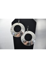 Nancy Dawson Large Circle Eagle Earring