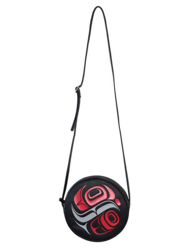 Native Northwest Circle Crossbody Bag Whale