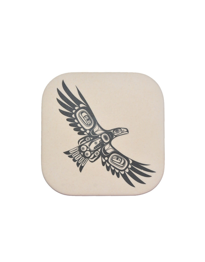 Native Northwest Soaring Eagle Coasters