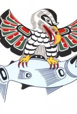 Kwa-gulth Eagle & Salmon