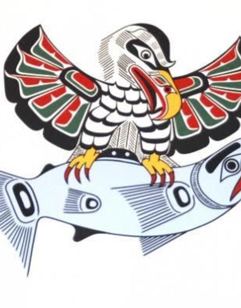 Hunt, Richard Kwa-gulth Eagle & Salmon