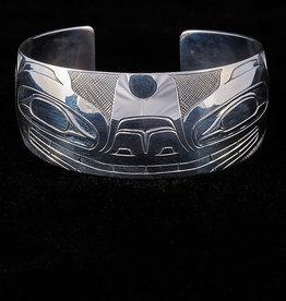 Erickson, Jon Silver Bracelet - Bear design