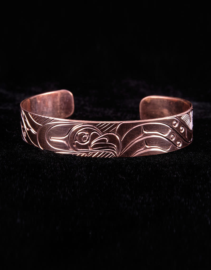 Agnes Wisden Eagle Copper Bracelet