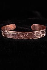 Agnes Wisden Eagle Wolf Copper Bracelet
