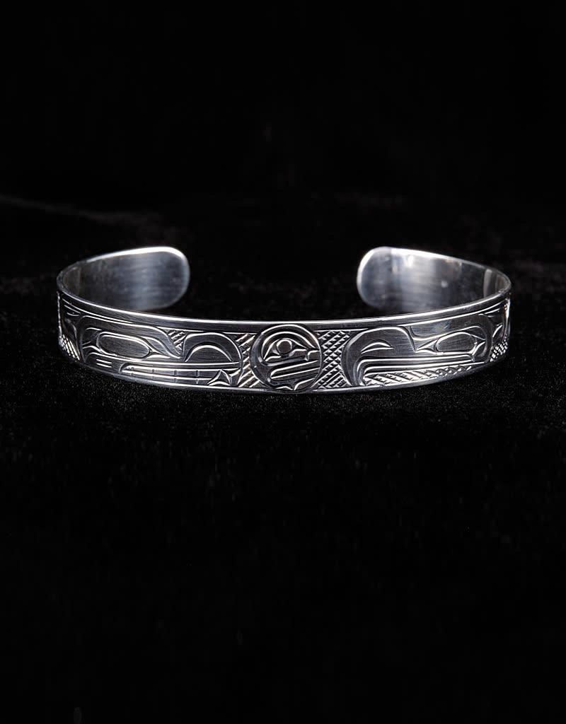 Harper Victoria Wolf Moon Eagle Bracelet
