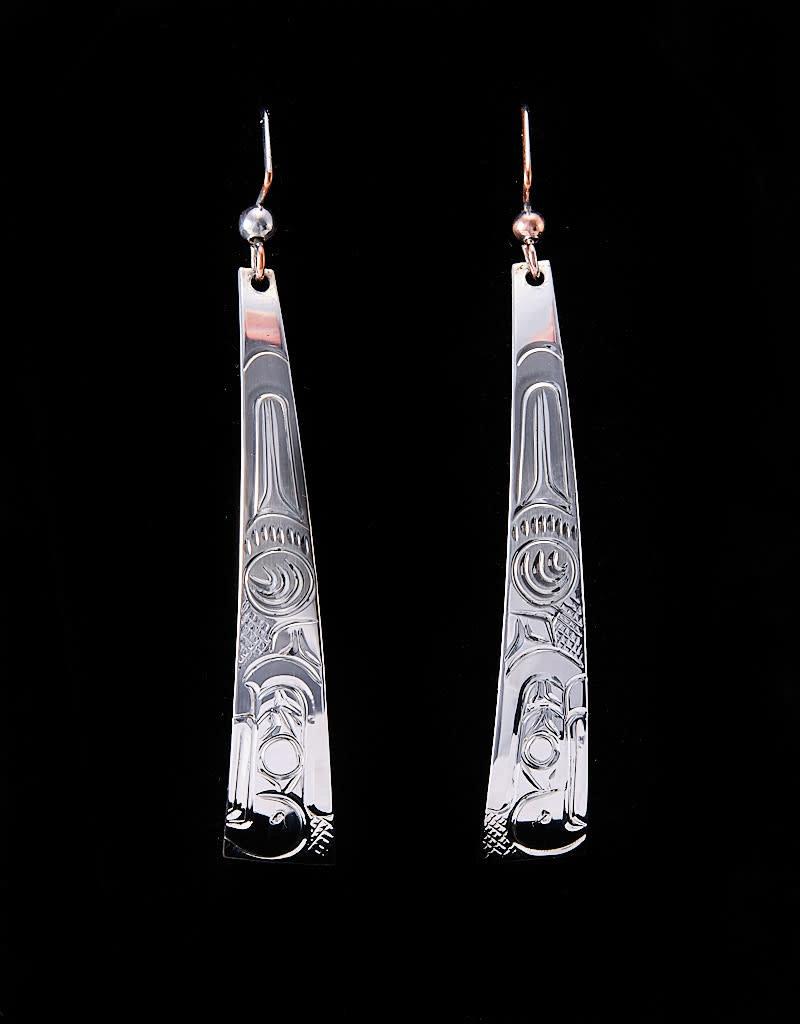 Wisla, Randy Long Eagle Silver Earring