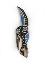 John, Harvey Hummingbird Blue -carving