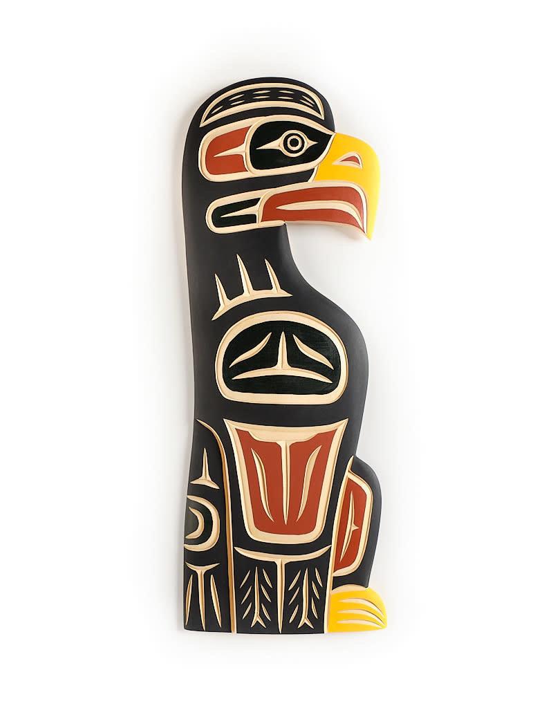 John, Harvey Eagle Carving