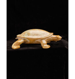 Bird, V Turtle Soapstone
