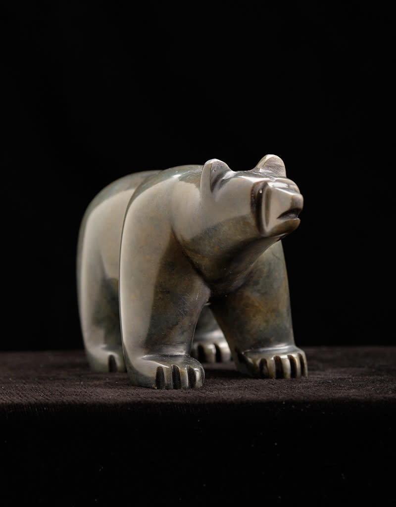 Moose, Howard Bear Soapstone Carving
