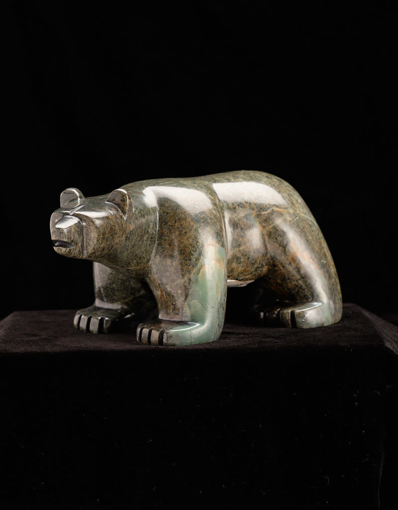 Moose, Howard Black Bear Soap Stone
