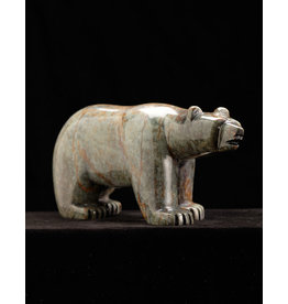Moose, Howard Black Bear Soapstone Carving