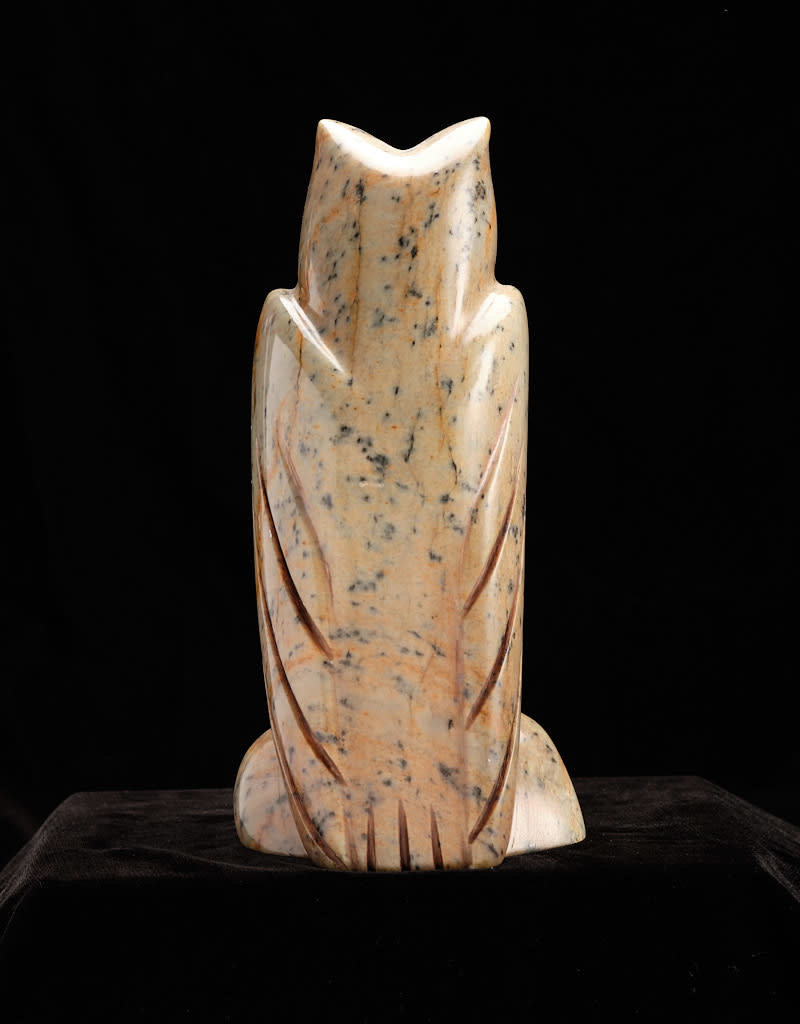 Moose, Howard Owl Soapstone Carving
