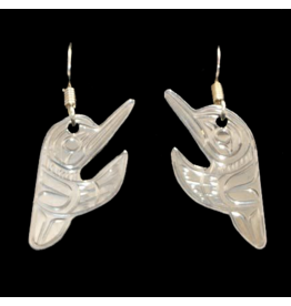 Harper Victoria Hummingbird Earring Cut Out