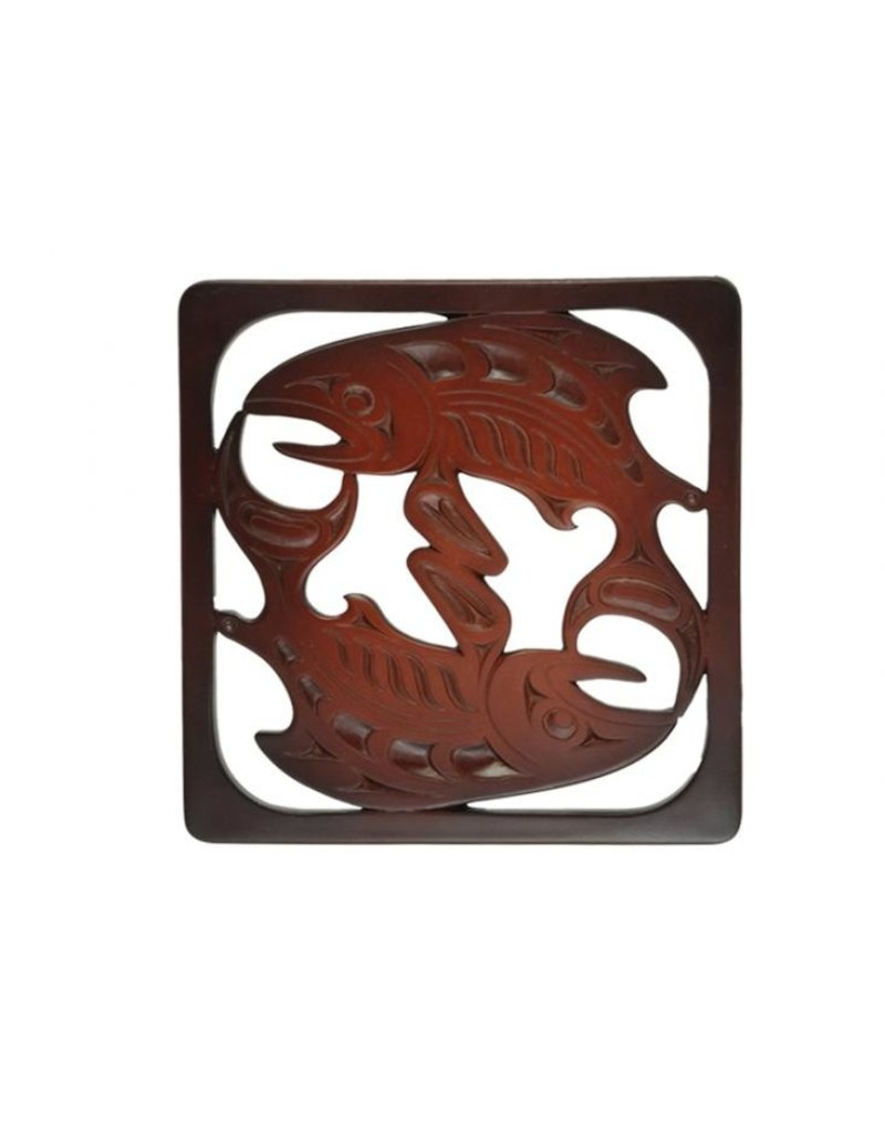 Mark Garfield Salmon Trivet