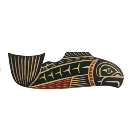 John, Harvey Salmon Carving