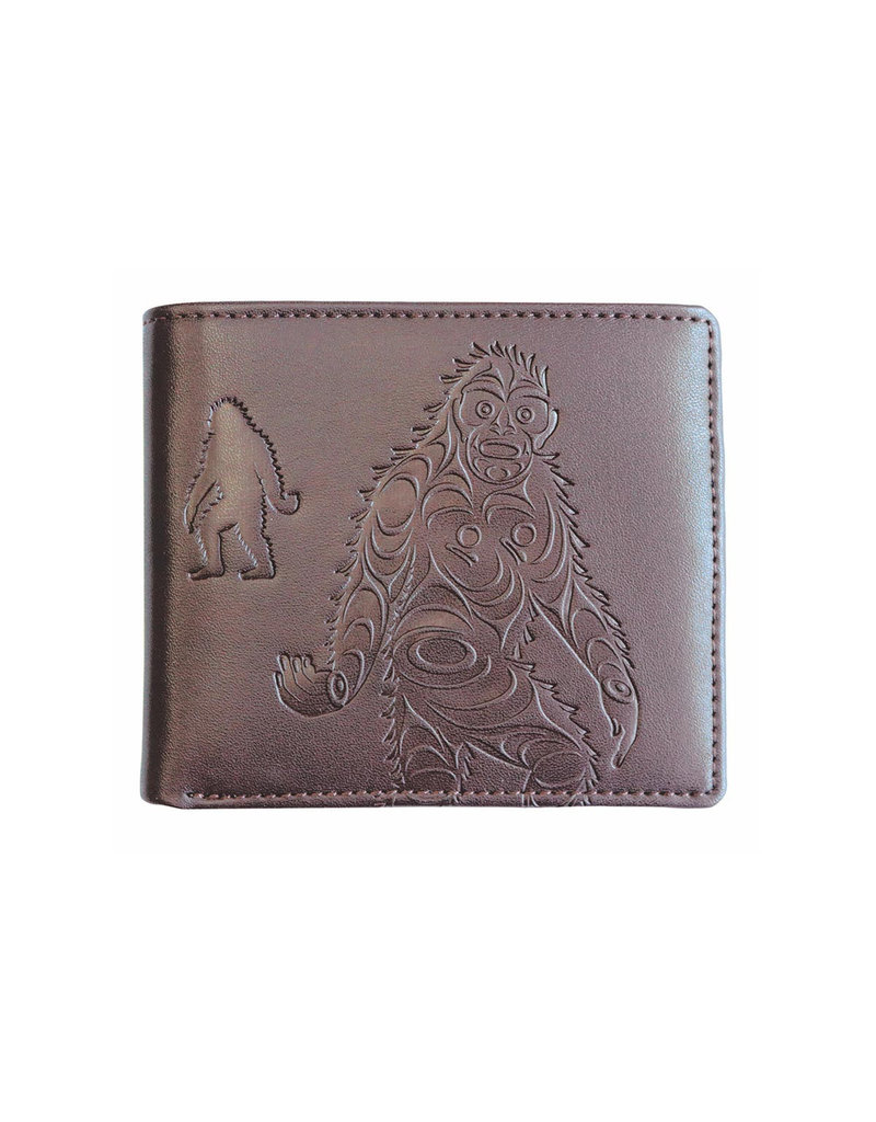 Native Northwest Eagle Crest Wallet