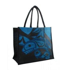 Panabo Sales Killer Whale Jute Bag-Blue