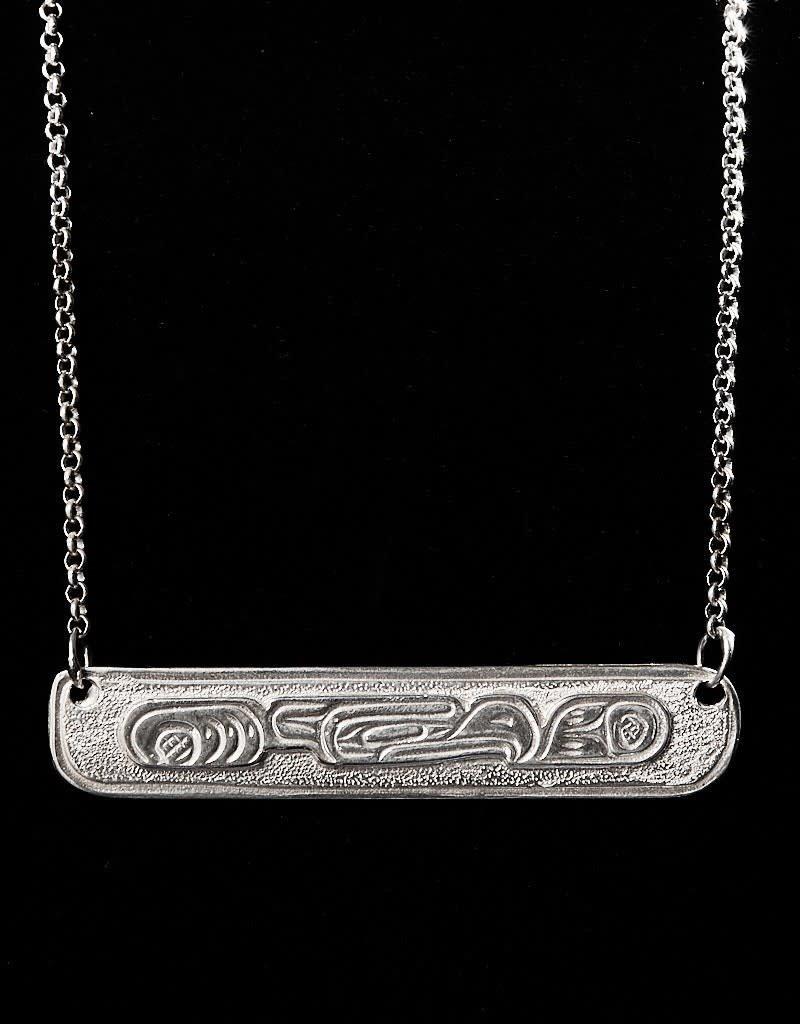 Harper Victoria Thunderbird Sliver Necklace