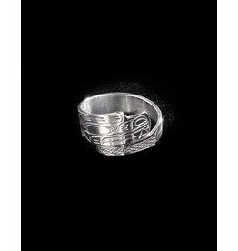 Harper Victoria Bear Wrap Ring