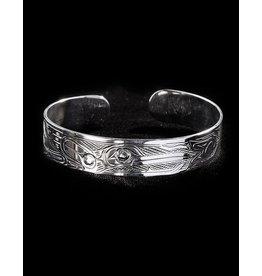 """Harper Victoria H.Bird Silver 1/2"""" bracelet"""