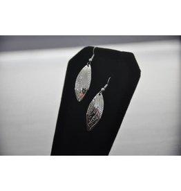 Vincent Henson Hummingbird Silver Earring
