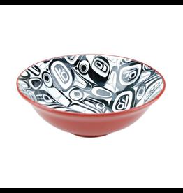 Panabo Sales Raven XL Black & Red Bowl