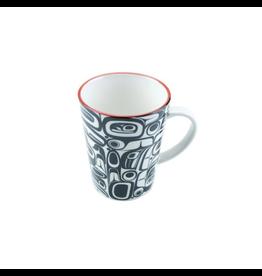 Panabo Sales Raven Red & Black Mug