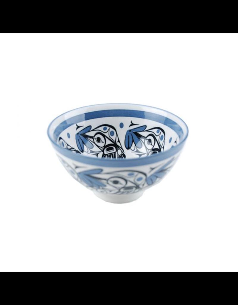 Panabo Sales Hummingbird Med Bowl - Blue