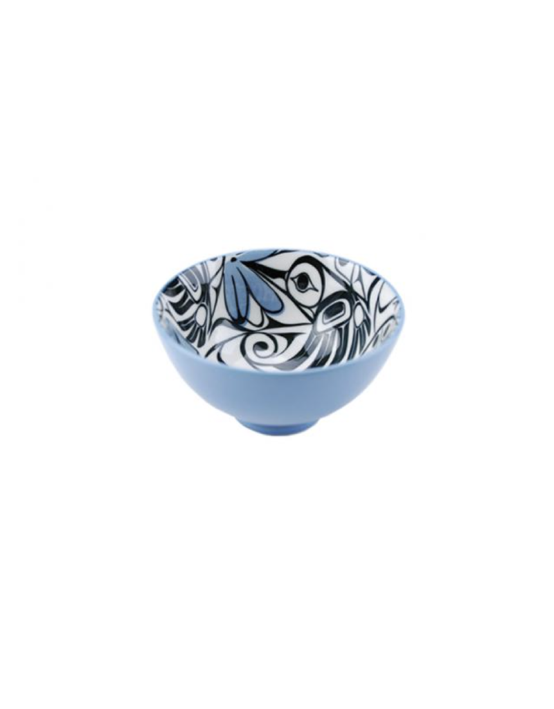 Panabo Sales Hummingbird Small Bowl - Blue
