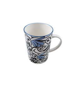 Panabo Sales Hummingbird Mug - Blue