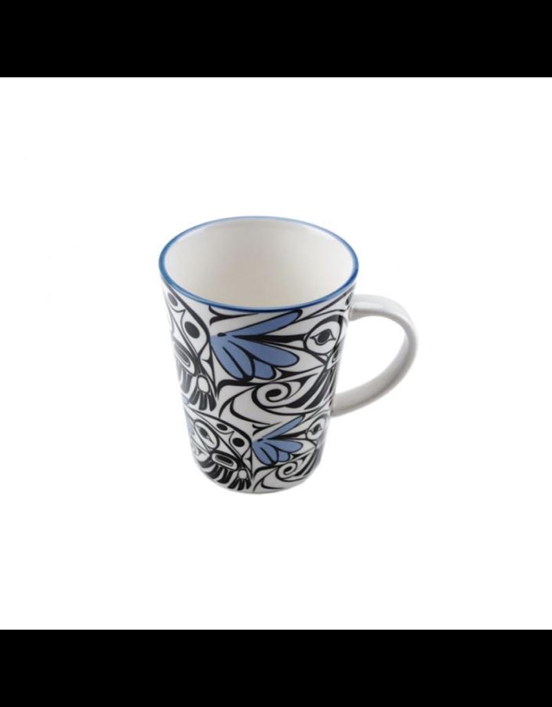 Panabo Sales Hummingbird Mug - Blue