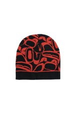 Panabo Sales Eagle Toque Black & Red