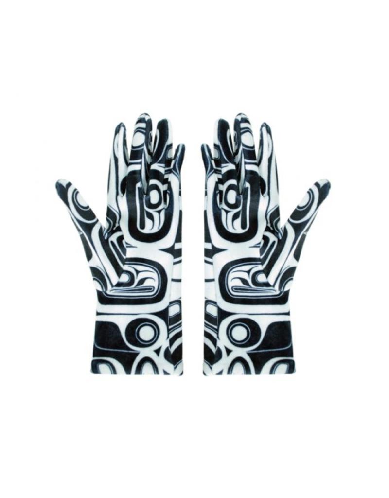 Panabo Sales Raven Black & White Glove