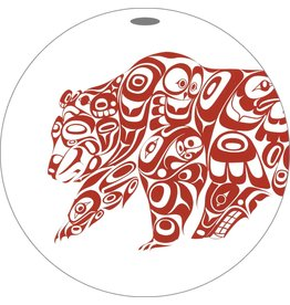 Canadian Art Prints Bear Design Ornaments