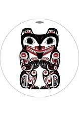 Canadian Art Prints Haida Grizzly Bear Ornaments