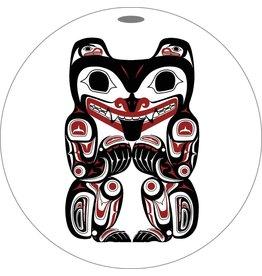 Canadian Art Prints Haida Grizzly Bear Ornaments