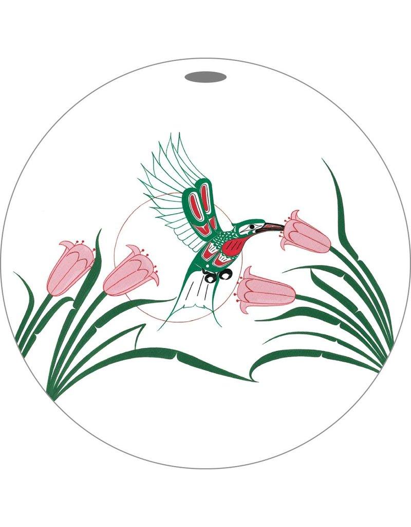 Canadian Art Prints Hummingbirds Ornaments